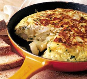 Old World Spanish Omelette