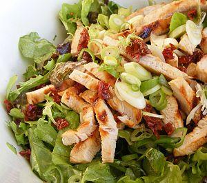 Turkey Salad with Orange Vinaigrette