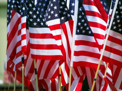 American Flags, Creative Commons license