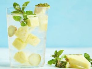 pineapple-mint-ginger-water